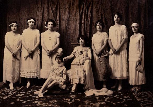 Homenaje a la Mujer Bilbilitana. 1924 (Archivo Fotográfico del CEB)